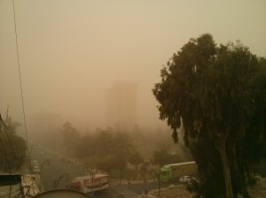 Visibility compromised.
